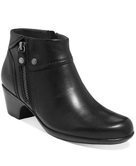 macys ankle boots clarks s ingalls thames ankle booties shoes macy s