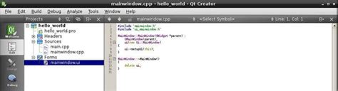 qt programming hello world hello world program using qt in raspberry pi