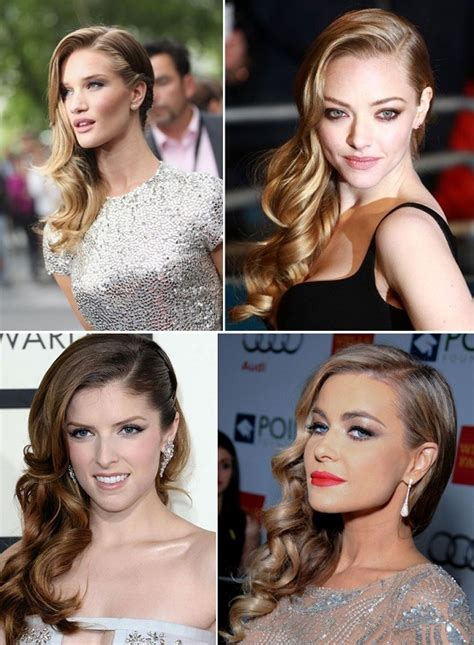 Hairstyles To The Side With Curls by A Sweeping Style Statement With Side Swept Curls Alldaychic