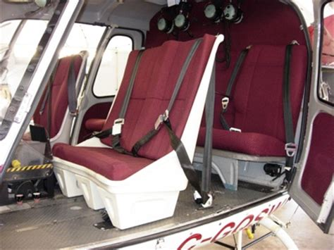 geneva's as350/355 two place front seat | helicopters magazine
