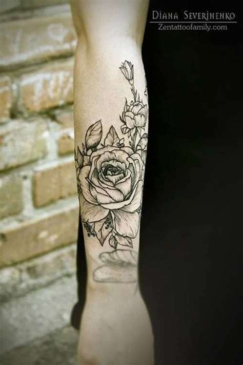 tattoo flower forearm flower tattoo design on forearm tattoo shortlist