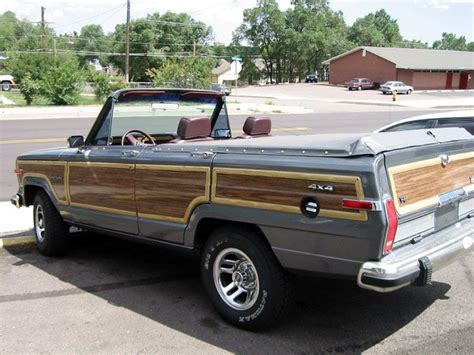 convertible jeep truck convertible jeep wagoneer cars and trucks