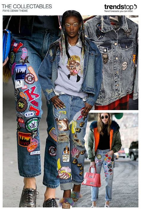 Patchwork Denim Trend - i d so want this to come back in style for 2016 17 i d
