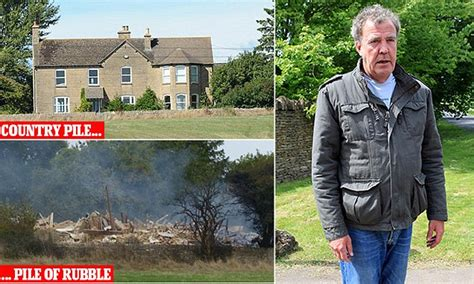 jeremy clarkson house jeremy clarkson blows up cotswold farmhouse to make way