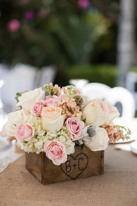 flower box centerpieces