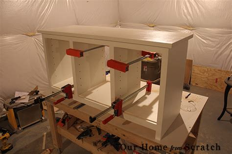 Cabinet Assembly by Our Home From Scratch