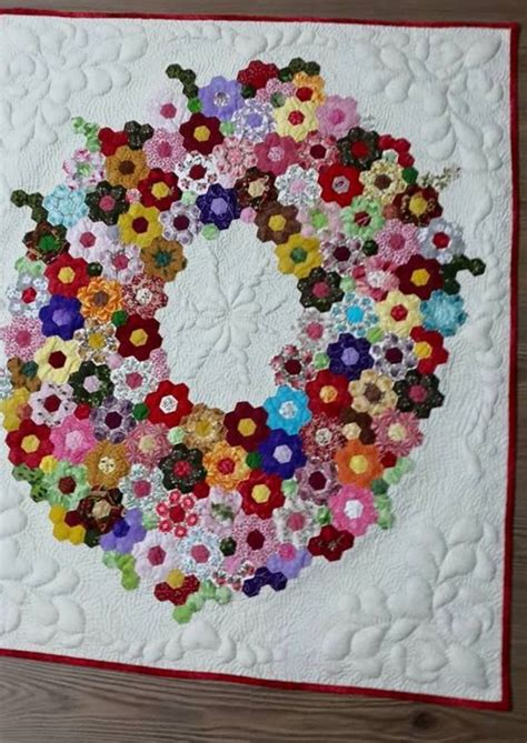 Hexagon Patchwork Projects - 1932 best hexagon quilting images on patterns
