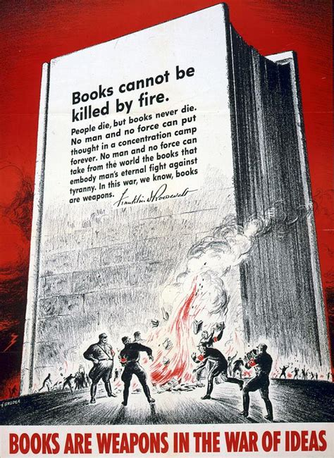 the eighteen weapons of war books books are weapons in the war of ideas 1942 us world war ii