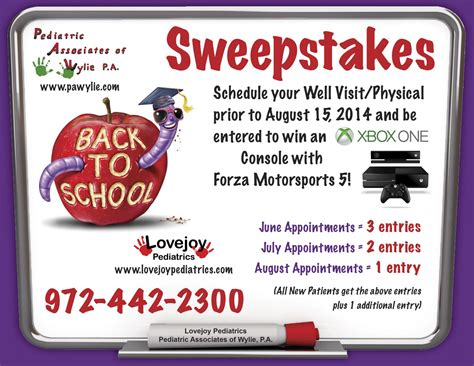 Back To School Sweepstakes - 2014 back to school sweepstakes