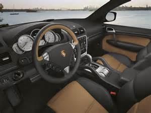 Inside Porsche Cayenne Turbo S Interior