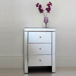 Mirrored Bedside Table Mirrored Bedside Table Add A Touch Of Elegance