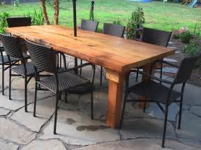 Wooden Patio Tables Wooden Outdoor Furniture Wood Recycling Use It Again