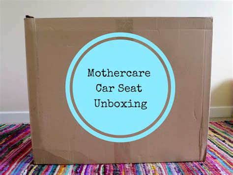 Mothercare Madrid Car Seat mothercare madrid 1 combination car seat unboxing