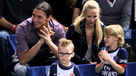 zlatan ibrahimovic and his wife and children youtube