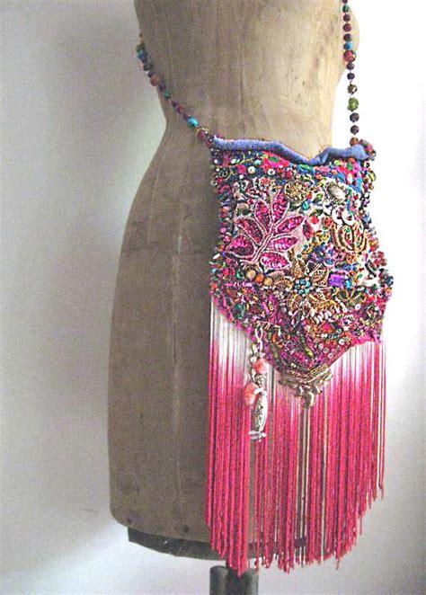 p nk illuminati illuminati bag antique embroideries densely beaded pink