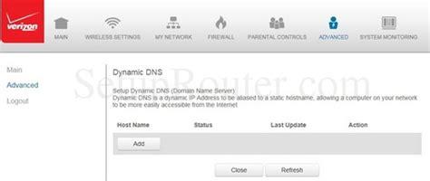 reset verizon fios ip address verizon fios dns servers ip address checkpoint route