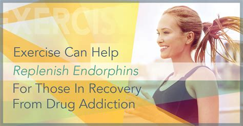 What Can Help With Detox Cravings by Exercise Can Help Replenish Endorphins For Those In