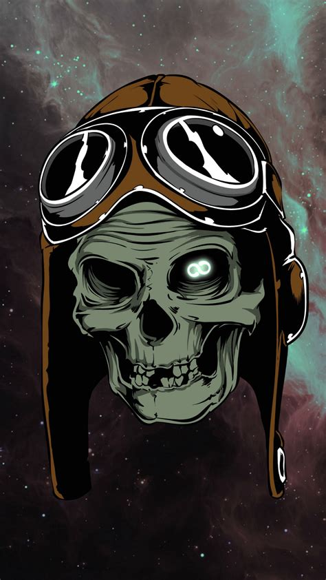 Skull Space space skull iphone 6 plus wallpaper 1080x1920