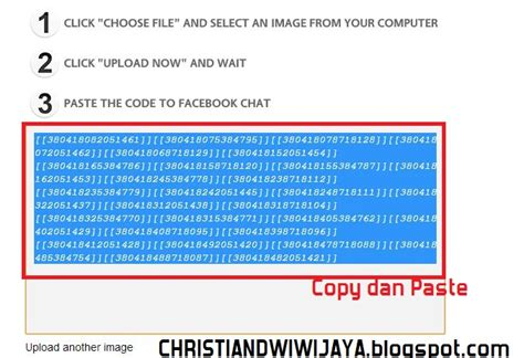 cara membuat virus facebook chat popular artikel cara membuat emoticon chat facebook sendiri