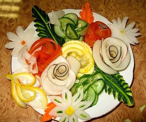 Food Plate Decorating Ideas by 10