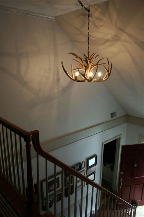 cool ways   antlers  home decor shelterness