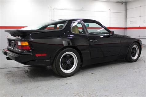 porsche 944 black 1986 porsche 944 turbo german cars for sale blog