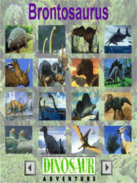 serious game classification : dinosaur adventure 3 d (1999)