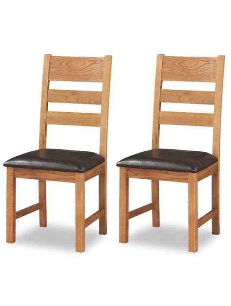 Ladderback Dining Chairs Harvest Oak Ladderback Dining Chair