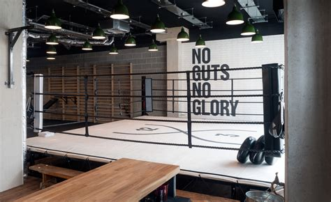 boxing wallpaper for bedrooms fight club studio xoo brings design clout to a london
