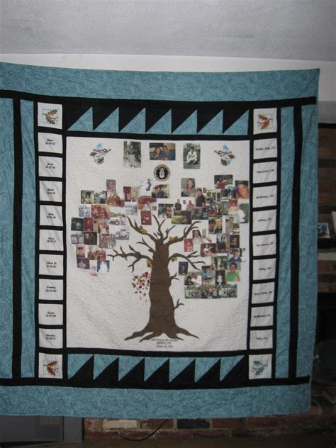Quilts With Pictures Of Family by 1000 Images About Family Tree Quilts On