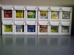tea organization best 20 tea bag storage ideas on pinterest tea storage