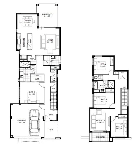 corner block house designs perth narrow block house designs perth trend home design and decor