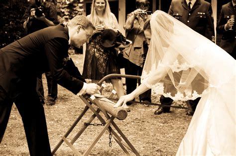 german wedding traditions and customs german wedding tradition log cutting ceremony oh god my