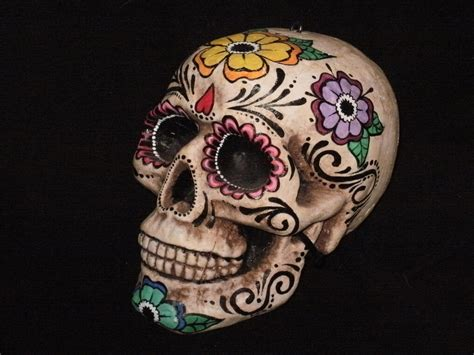 day of the dead skull frida 2 by airangale on deviantart