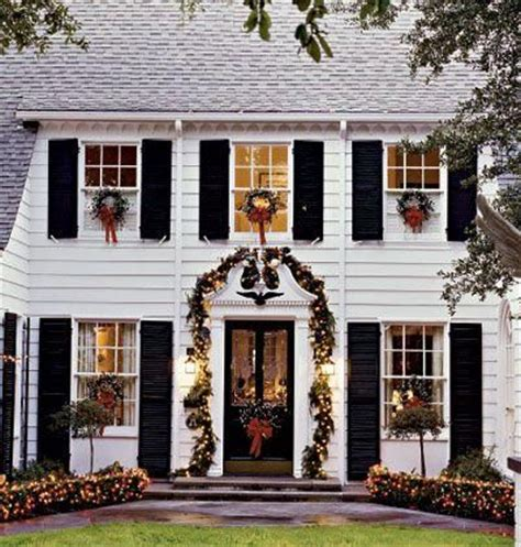 christmas wreaths on windows outdoors and indoors the