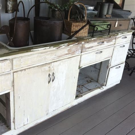Salvage Kitchen Cabinets | salvaged kitchen cabinets and sink make a house a home