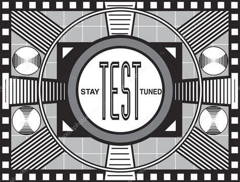test pattern black and white retro tv test pattern stock photo 169 jamesgroup 13454369