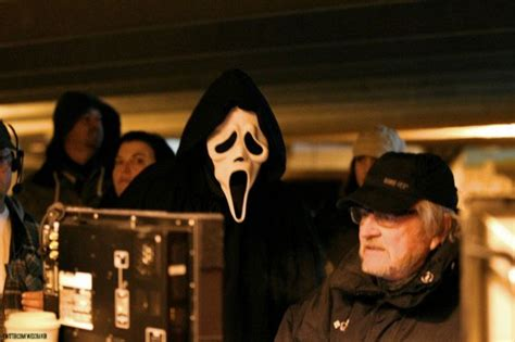 ghostface film finally some ghostface stabbing action has leaked from