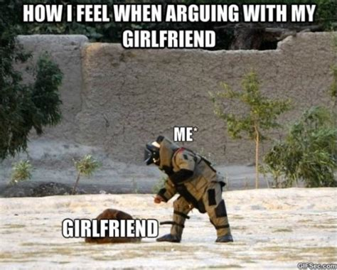 Funny Fight Memes - fighting with my girlfriend meme 2015