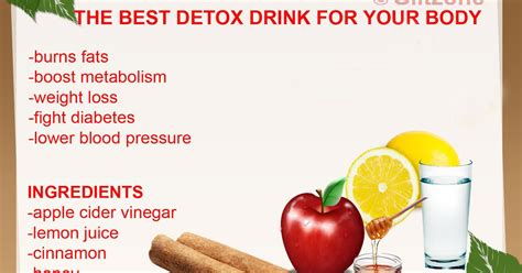 The Best Detox by The Best Detox Drink For Your Glitzone