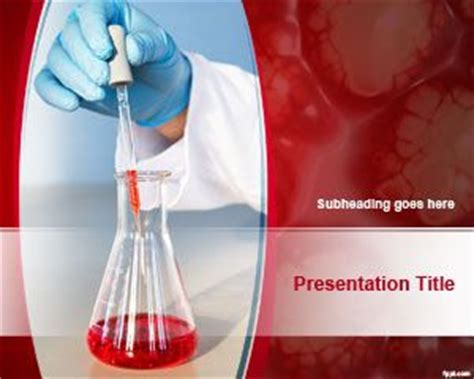 powerpoint themes laboratory laboratory analysis powerpoint template