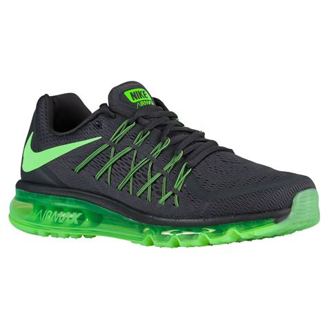 Nike Airmax 9 0 Black Green qualified nike air max 2015 anthracite black green strike