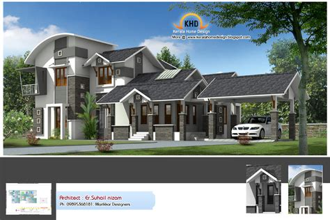 desing home kerala new design homes simple house designs flat house