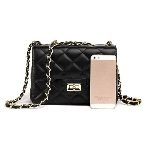 Tas Cnk Quilted Chain Mini small black bag with chain y bag yves laurent