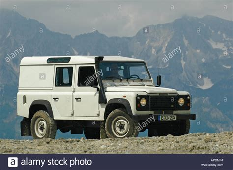 land rover defender white white land rover defender 110 station wagon td5 in the