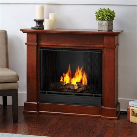 ventless gel fuel fireplace real devin 36 in ventless gel fuel fireplace in