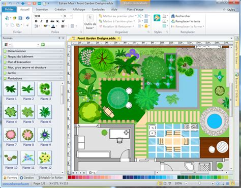 Garden Layout Maker | logiciel de cr 233 ation de plan l habis