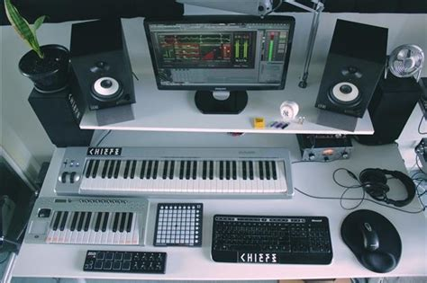 bedroom music studio setup chiefs takes us on a tour of his boss bedroom studio thump