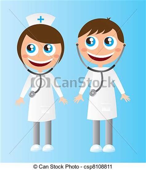 imagenes animadas de doctores vector clip art de caricaturas doctors mujer y