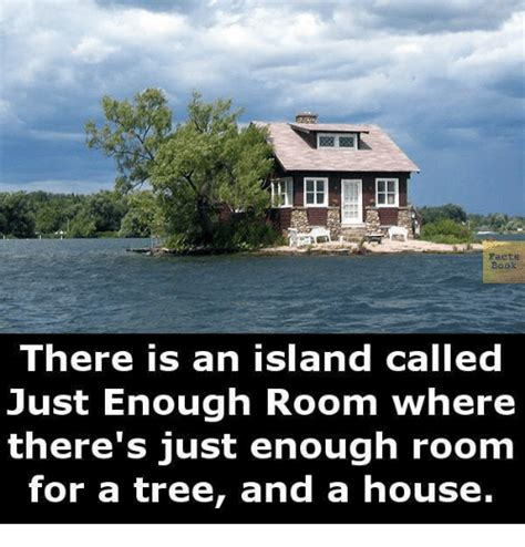 just room enough island facts book there is an island called just enough room